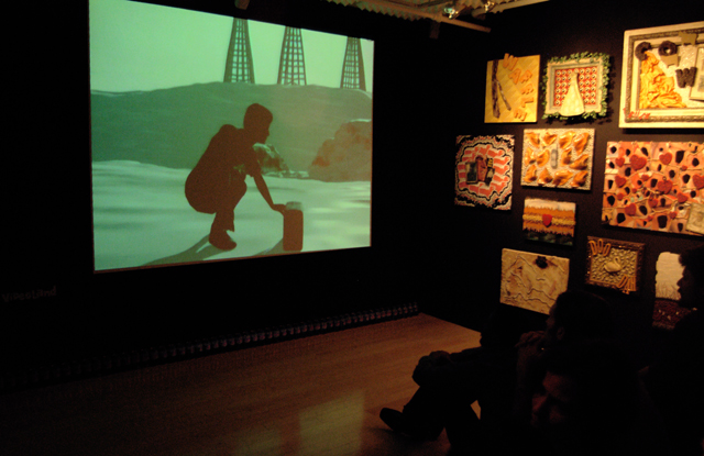 Gigantic Artspace, New York City, September 2005 - videoland-gas