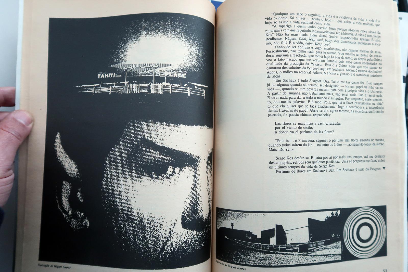 Carlos Leite,Revista Vertice n50, SetOut, 1992.