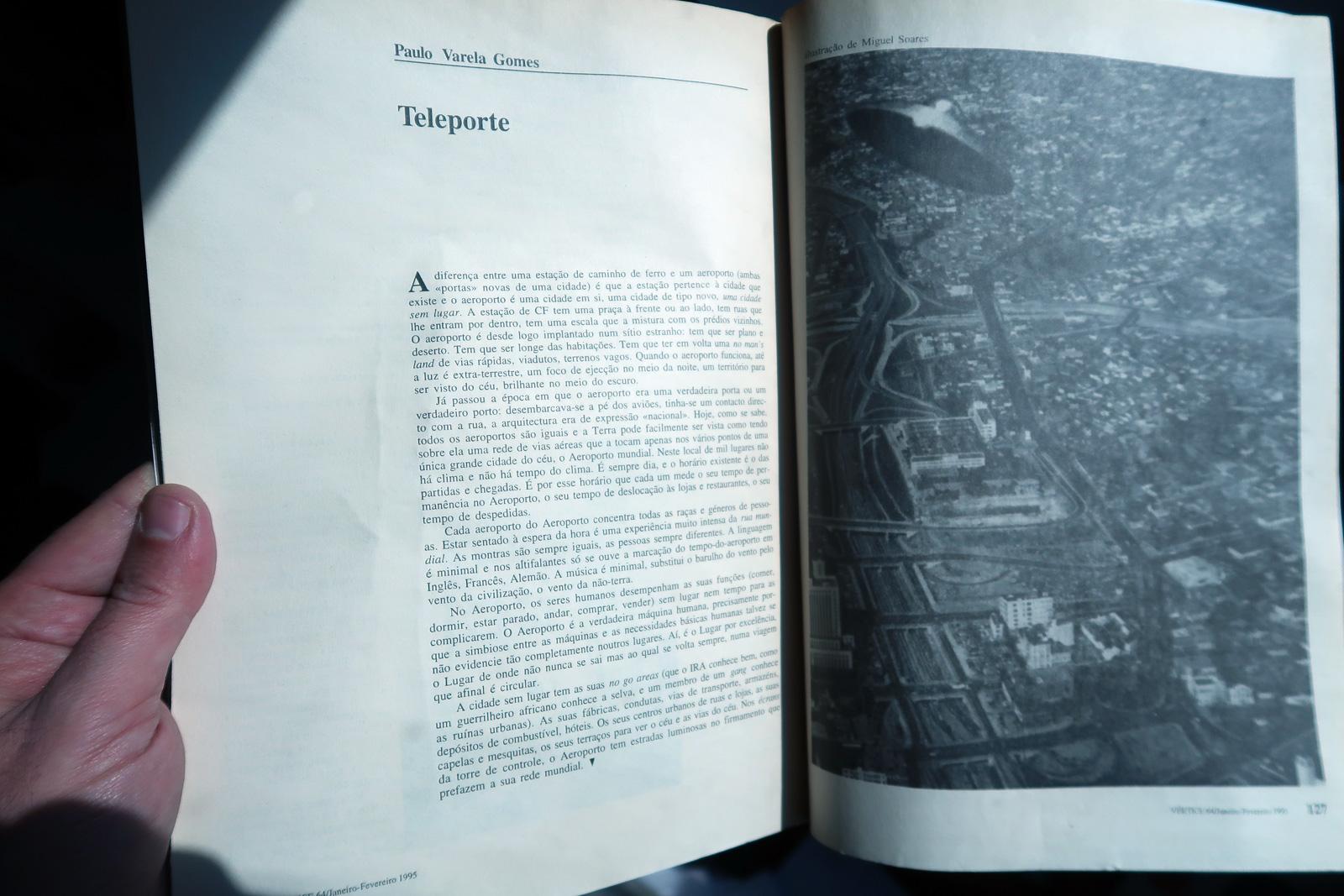 Paulo Varela Gomes,Revista Vertice 64, JanFev, 1995